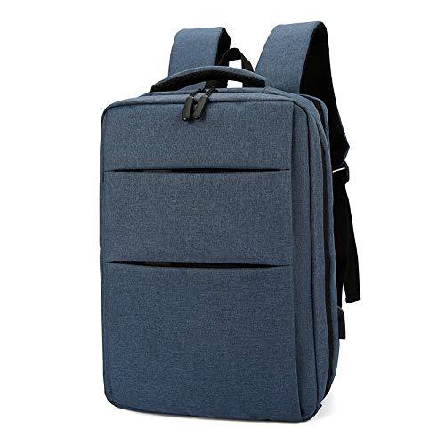 Mochila para portátil de 17 Pulgadas, Mochila de Viaje con Puerto de Carga USB, expandible, antirrobo, Resistente al Agua, para Negocios, Trabajo, Universidad.