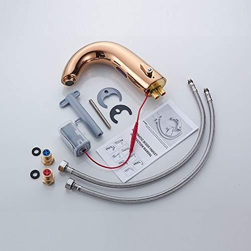 Touch Basin Faucet SDSN SUS304 Stainless Steel Single Cold Bathroom Basin Faucet Sensor Black Basin Faucet Touch Control Faucets
