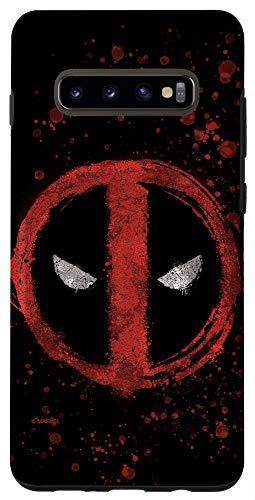 Galaxy S10+ Marvel Deadpool Wade Wilson Icon Case