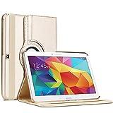 Bingsale 360° Housse en cuir pour Samsung Galaxy Tab 4 10.1' avec rabat/stand de positionnement...
