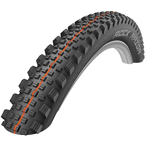 Schwalbe Rock Razor Super Gravity Soft TLE Folding Neumáticos, Unisex Adulto, Negro, 27.5x2.35