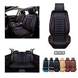 OASIS AUTO OS-012 Leather Car Seat Covers, Faux Leatherette...