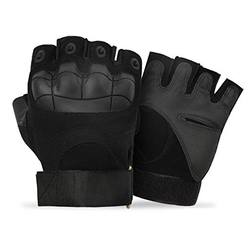 Bokshandschoenen Voor Mannen Goedkope Bokshandschoenen Bokshandschoenen Voor Kickboksen Sparring Handschoenen Half-Vinger Bokstraining Handschoenen b-black,m