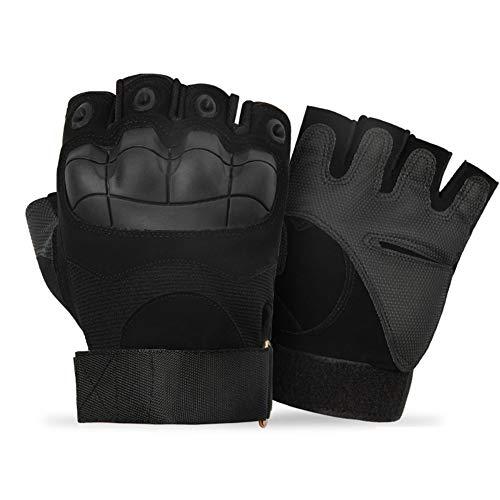 KANKOO Box Handschuh Herren Boxhandschuhe Männer Junior Boxhandschuhe Boxsackhandschuhe Boxhandschuhe für Kampfkünste 10oz Boxhandschuh b-Black,l
