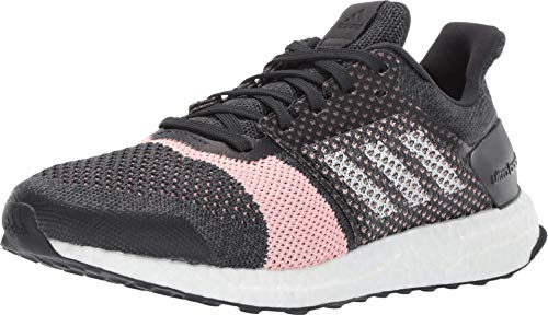adidas Women's Ultraboost ST, Carbon/White/Grey, 10 M US