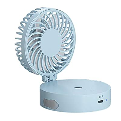 Necklace Fan Hand Free Personal Misting Fan Mini Portable USB Fan 90° Rotating Free Adjustment Handheld Fan Tigivemen