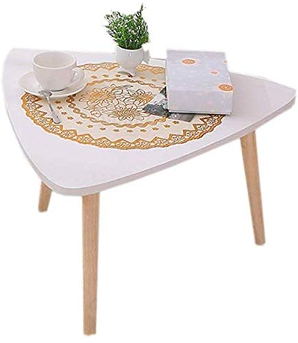 ZXL Bed Table, Small Assembled Für Windowsill Platform Short Learn Laptop Desk, Wit (Kleur: Witte Driehoek, Grootte: 60 cm)