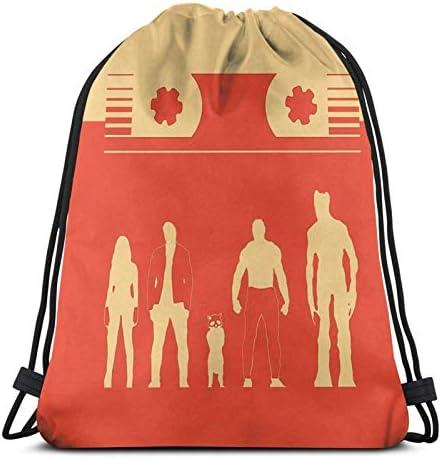 Guardians of The Graphixy Sport Sackpack Trekkoord Rugzak Gym Bag Bag