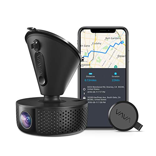 Dash Cam | VAVA 1920X1080P@60Fps | Wi-Fi Car Dash Camera | Sony Night Vision Sensor | Dashboard Camera Recorder with GPS | Snapshot Button | Parking Mode | G-Sensor | Support 128GB Max