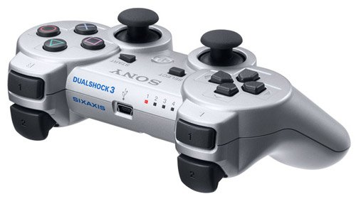 PlayStation 3 - DualShock 3 Wireless Controller, silber