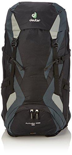 Deuter Futura Pro Mochila para Montaña, Unisex adulto, Negro, 36 l