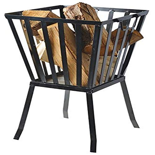 Fallen Fruits Square Fire Basket