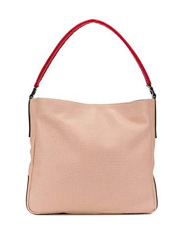 Hogan Moda De Lujo Mujer KBW01DS0300N5F7A25 Beige Cuero Bolso Tipo Shopper | Primavera-verano 20