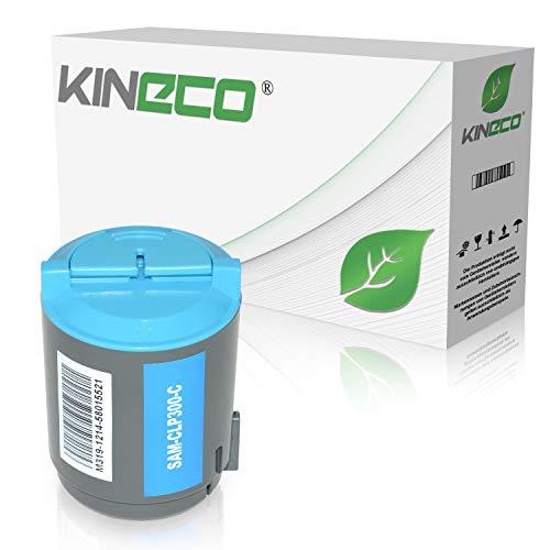 Kineco Toner kompatibel zu Samsung CLP-300, CLP300N, CLX-2160N, CLX-3160FN, CLX-2100 Series - Cyan 1.000 Seiten