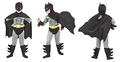 Deguisement Chauve Souris Enfant 10/12ans L- Super Hero Chauve-Souris - 829