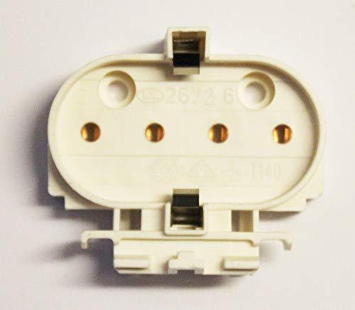 Einsteckfassung 2G11 PL-L Dulux L TC-L Lampe Leuchte Birne