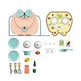 Zoloyo - Set da cucina per bambini, per giocare a casa, per bambini, con combinazione di accessori per la cucina, set per il trucco, kit medico a tema ragazza