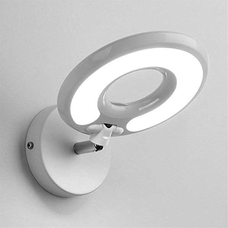 YWJWJ Wand-Beleuchtung Moderne einfache und kreative Schlafzimmer zum Hotel zu Lesen Studie Augenlampe mit Schalter, 10 cm  16 cm, weie LEDs