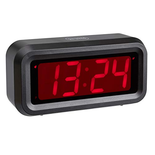 TFA Dostmann 60.2024.10 Roxy - Despertador Digital con función de repetición de Alarma