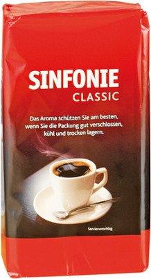1x JACOBS-Kaffee SINFONIE CLASSIC - Inhalt 500 g - Kaffee, Süßwaren
