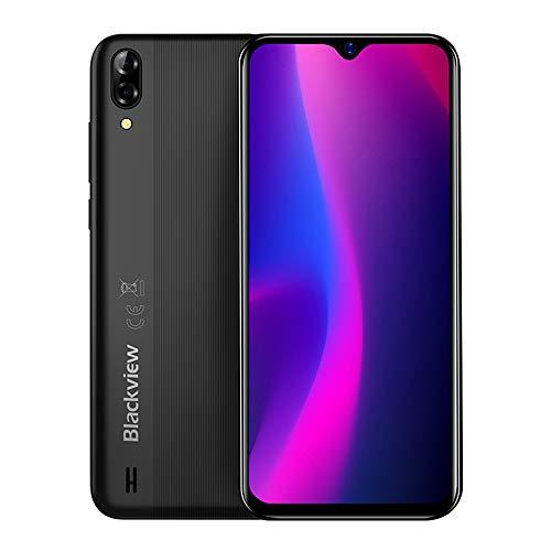 【2019】Cellulari offerte Blackview A60 3G Android 8.1 DUAL SIM Smartphone - 6.1 pollici (19.2: 9) Visualizzazione a schermo intero, Quad core 1.3 GHz 1 GB+16 GB, 5 MP+13 MP, batteria 4080 mAh - Nero