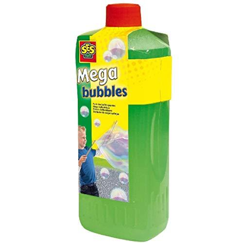 SES Creative Nachfüllset Riesenseifenblasen Ricarica megabolle 02256, Grün