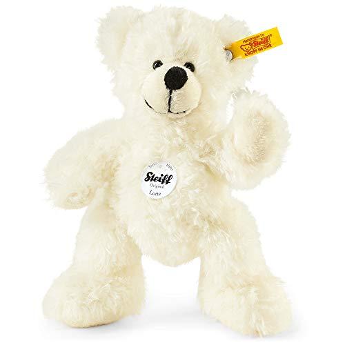 Steiff Teddybär Lotte - 18 cm - Kuscheltier für Kinder - beweglich & waschbar - weiß (111365)