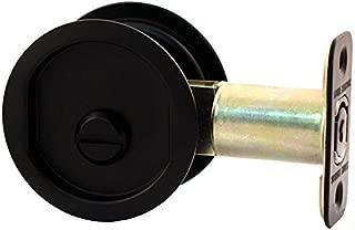Stone Harbor Hardware 811-19 Pocket Door Lock Privacy Function Round Backset, 2.375