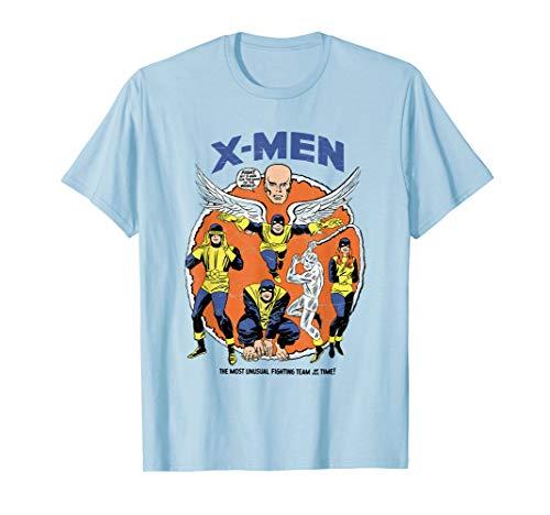 Marvel Original X-Men Mutants Classic Retro Comic T-Shirt