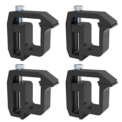 6 Pack Nissan Titan Mounting Channel Track Truck Topper Cap Black Toyota Tacoma Camper Shell Clamps API Clamps