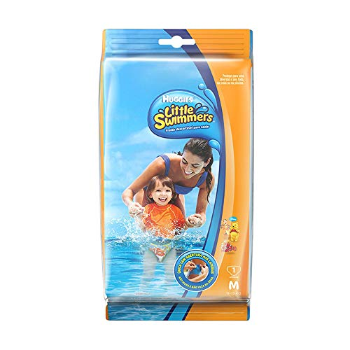 Fralda Descartável Piscina Little Swimmers, Huggies, Branco