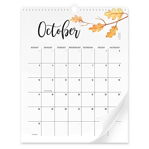 Aesthetic Floral Wall Calendar -...