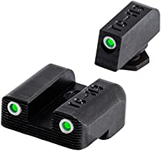 Tritium Handgun Glow-in-the-Dark Night Sights for Glock Pistols, Glock 42/43