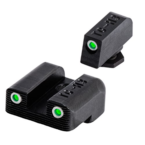 TRUGLO Brite-Site Tritium Sight for Glock 42, Green