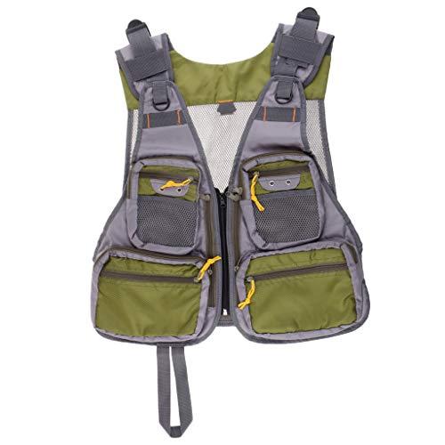 Homyl Fliegenfischer Weste Pack Für Forellen Fanggeräte Und Ausrüstung, Einstellbare Größe