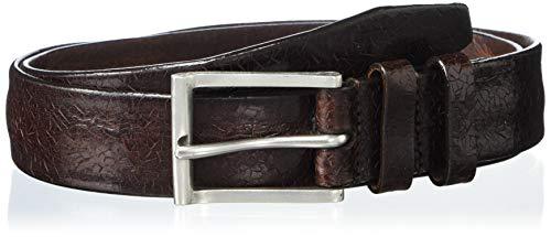 John Varvatos - Cinturones de piel para hombre vestido casual para jeans -  Marrón -  30