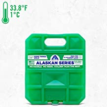 Long Lasting Ice Pack for Coolers, Camping, Fishing and More, Medium Reusable Ice Pack, Alaskan Series by Arctic Ice , Green
