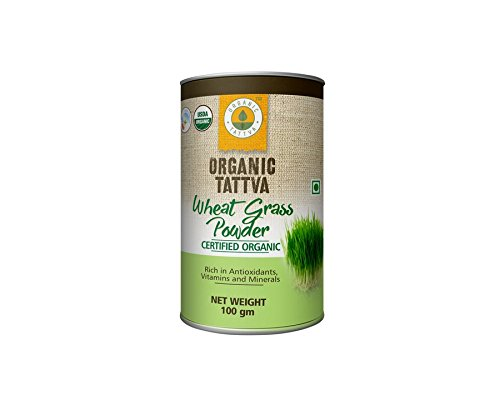 Organic Tattva Wheat Grass Powder, 100g