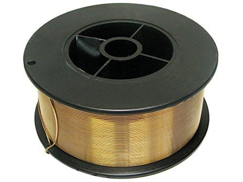 Rotek MIG Schweißdraht zum Löten von verzinkten Blechen und Schweißen von Kupfer CuSi3-0,8mm auf S100 Spule, 1kg