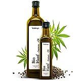 BIO Hanfsamenöl von Steinberger | 100% rein & kaltgepresst I Hanfsamenöl mit nussigem Geschmack...