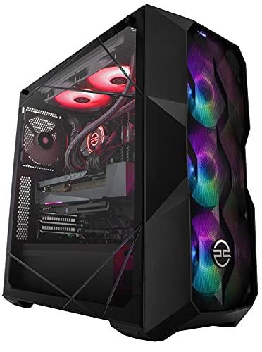 PCSpecialist Extreme PC Gaming - AMD Ryzen 7 5800X 3,80 GHz 8-Core, 32 GB RAM, GEFORCE RTX 3070Ti 8 GB, 1TB M.2 SSD + 2TB HDD