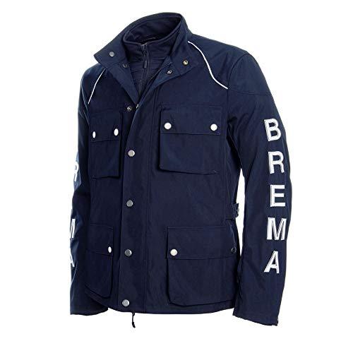 Brema - Silver vase GT, giacca da pista da enduro, blu, taglia M