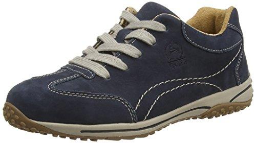 Gabor Comfort, 06.385.46 Damen Leder Sneaker , Blau (Nubuk Nightblue (S.natur)), 35.5 EU (3 UK)