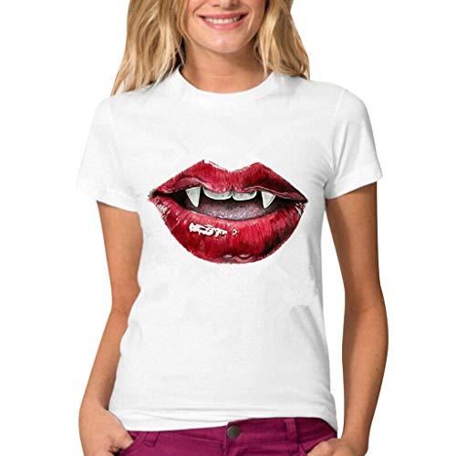 Auifor vrouwen Plus Maten-blouse chiffon - korte mouw patchwork tops