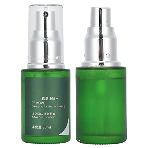 Spray antitranspirante, spray antitranspirante, spray desodorante corporal Ouliyuan spray desodorante unisex refrescante spray para eliminar el olor de axilas 30 ml