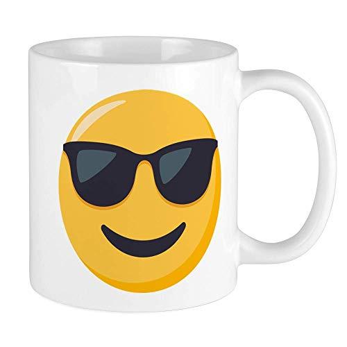 N\A Gafas de Sol Emoji Unique Coffee Mug, Coffee Cup