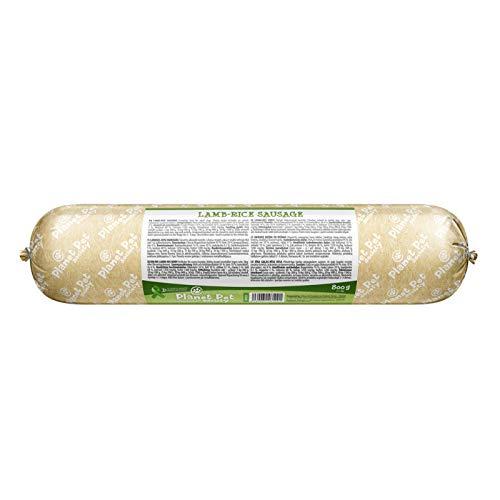 PLANET PET Salchicha de Cordero Snack para Perros - 800gr