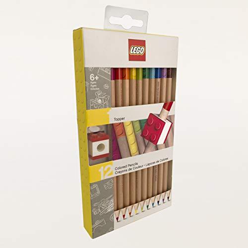 LEGO 12 bunte Matratzen mit Topper Gebäudeset