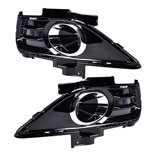 SHENGGLL 2 PCS Lámpara de luz Negra para Ford Fusion Mondeo 2013 2014 2014 2014