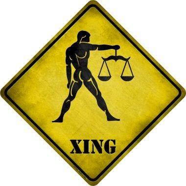 Koopje Wereld Weegschaal Zodiac Dier Xing Nieuwigheid Metalen Kruisbord (Met Sticky Notes)
